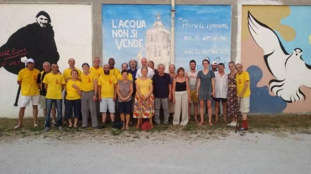 CONCLUSO IL CAMPO DI LAVORO PRESSO LA COMUNITÀ EMMAUS DI CANOVE DE' BIAZZI