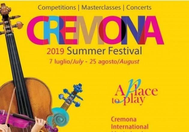 Cremona Summer Festival 2019  evento di  Domenica  25 AGOSTO