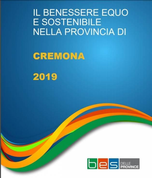 BES 'Benessere equo e sostenibile nella Provincia di Cremona – anno 2019'