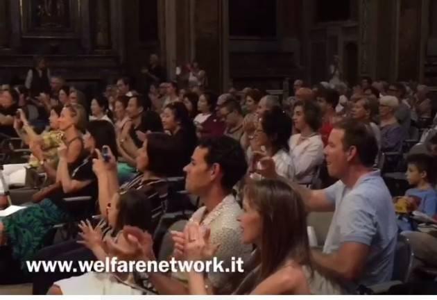 Trasferta in terra cremasca domenica 28 luglio per la nutrita pattuglia di musicisti del Cremona International Music Academy (Video E. Mandelli)