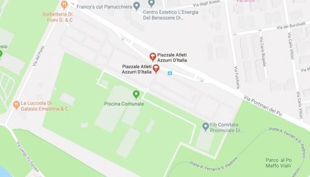 Cremona Presto un bando per manifestazione d'interesse alla realizzazione di un impianto sportivo nel comparto del parco al Po