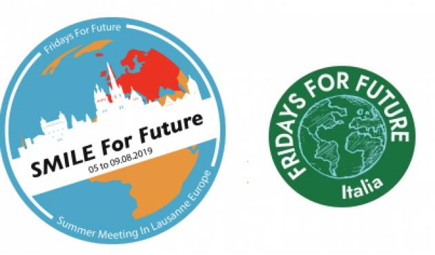 FRIDAYS FOR FUTURE ITALIA - SMILE (Losanna) dal 5 al 9 agosto