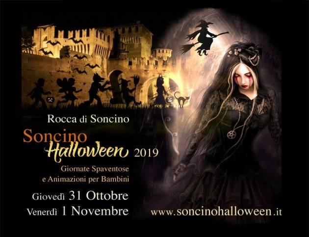 ALLA ROCCA-  SONCINO HALLOWEEN 2019 i prossimi 31 ottobre e 1 novembre
