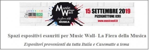 Pizzighettone in attesa  del Music Wall - La Fiera della Musica il 15 settembre