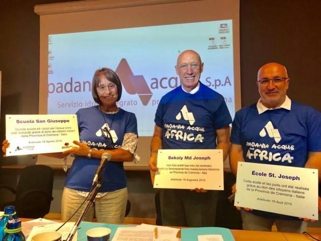 Cremona con il Padania Acqua For Africa costruiti tre pozzi e una scuola in Madagascar