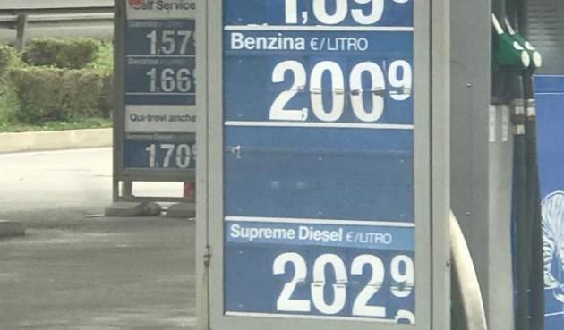ADUC Benzina.  Il triste primato del costo italiano… implacabile ed eterno?