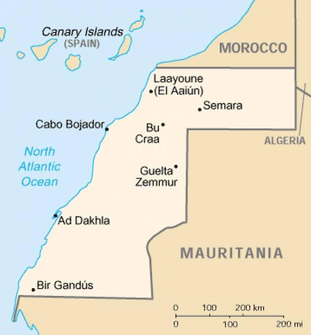 Esteri I sindacati condannano la repressione del popolo Saharawi