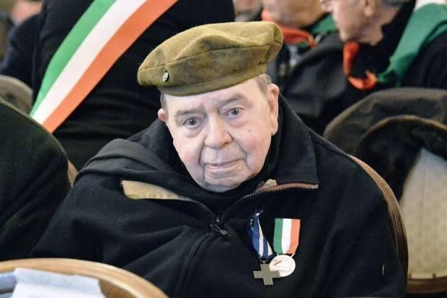Brescia SCOMPARSA  del partigiano PADRE GIULIO CITTADINI IL CORDOGLIO DEL SINDACO E DELLA GIUNTA