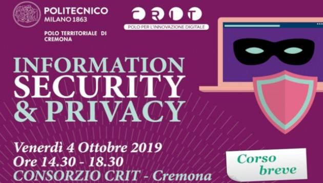 Nuovi corsi di formazione permanente e seminari tematici al Campus di Cremona