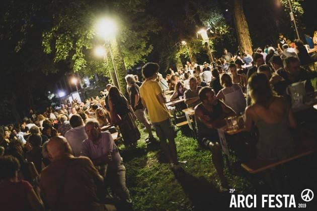 Cremona ArciFesta2019 , il programma di martedì 6 agosto