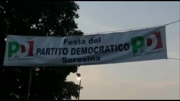 FesteUnità2019 Soresina  Una serata in compagnia a discutere mentre il parlamento approva il decreto bis| Video G.C.Storti