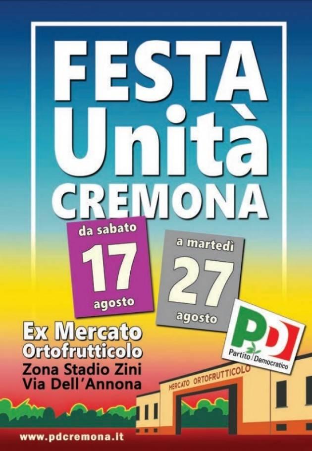 FESTEUNITA'2019  Cremona Terminata la festa all'ex Mercato Ortofrutticolo, i numeri estratti della lotteria