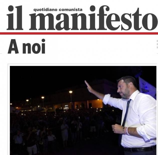Salvini chiede i pieni poteri. Lucio Garofalo: è assalito da un delirio ossessivo, clinico e morboso di onnipotenza