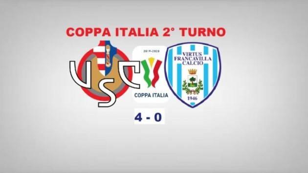 Cremonese- Virtus Francavilla (4-0) Una rotonda vittoria per cominciare bene la stagione| Giorgio Barbieri