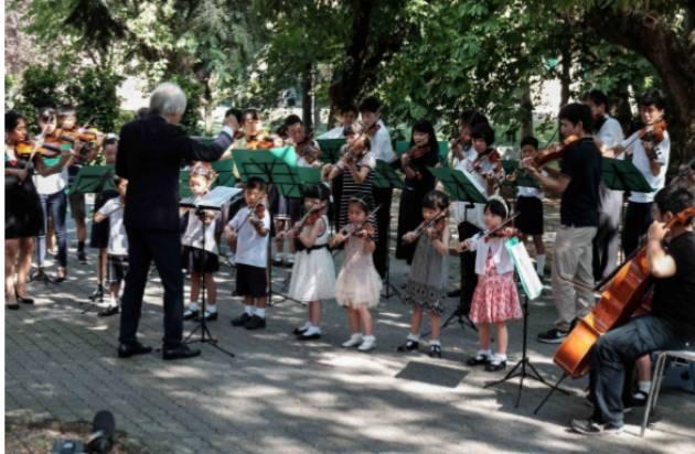 Tokyo Center Ensemble alla Pace dal Giappone  Martedì 20 agosto alle ore 10.40 nella RSA La Pace di Cremona
