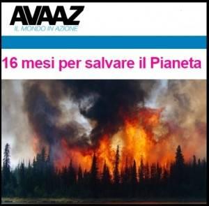 AVAAZ L'Artico è in FIAMME, con incendi così grandi da aver creato una nuvola di fumo più grande dell'Unione Europea!