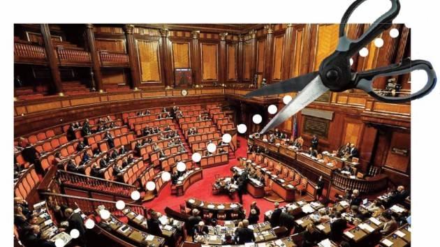 Aduc Governo. Taglio del numero dei parlamentari, ovvero, bazzecole, quisquilie e pinzillachere.