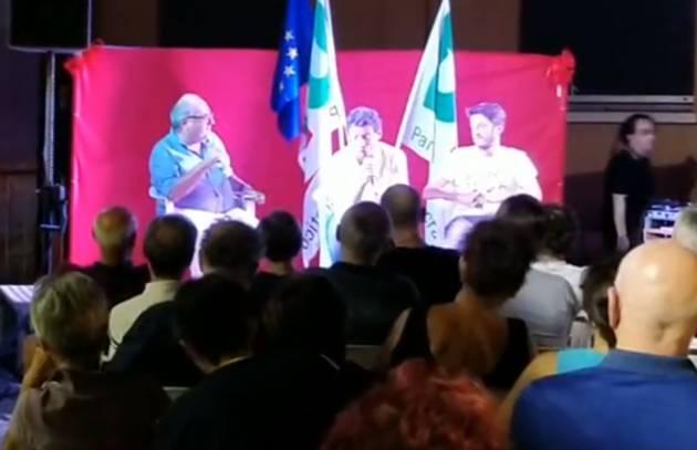 Galimberti alla Festa dell'Unità di Cremona : Sì ad un governo giallo-rosso se si verificheranno le condizioni politiche