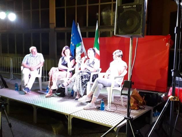 FestaUnitàCremona2019 Dibattito su 'Basta plastica e lotta alle ecomafie' Chiara Braga segreteria nazionale Pd (Video G.C.Storti)