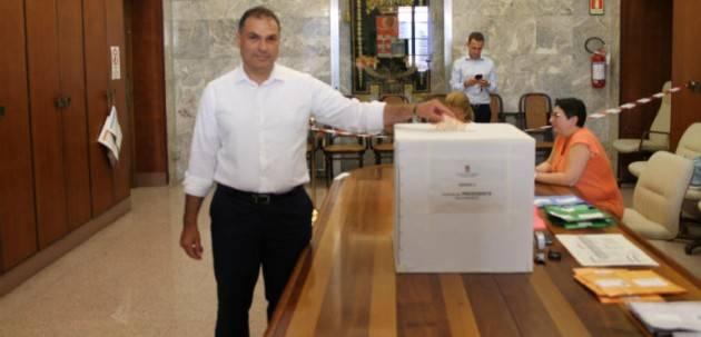 Paolo Mirko Signoroni  eletto  Presidente Provincia di Cremona .Sconfitto il candidato della Lega. Soldo (Pd) soddisfatto