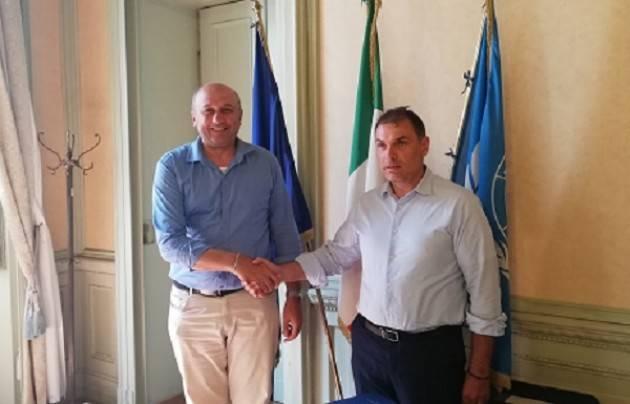 Passaggio di consegne da Rosolino Azzali al neo Presidente Paolo Mirko Signoroni