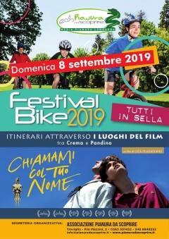 Cremasco Festival Bike 2019 - itinerari attraverso i luoghi del film 'Chiamami col tuo nome'
