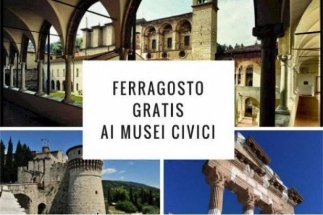 """A Brescia grande successo per l'iniziativa """"Ferragosto ai musei"""""""