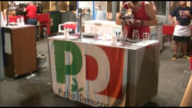 Cremona Allegra serata di chiusura della FestaUnità2019 Intervista a Luca Burgazzi   (Video G.C.Storti)