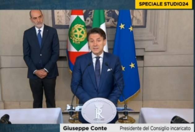 Governo Conte 2.0 Vedo con favore il nascere dell'alleanza M5S-PD | G.C.Storti