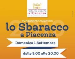 Piacenza Il 1° settembre  In centro lo Sbaracco di fine estate, le limitazioni al traffico