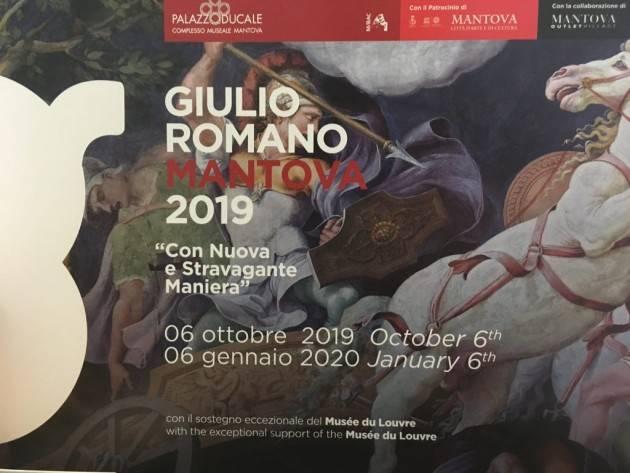 LNews-CULTURA, ASSESSORE GALLI DOMANI A PRESENTAZIONE PROGETTO 'MANTOVA: CITTA' DI GIULIO ROMANO'