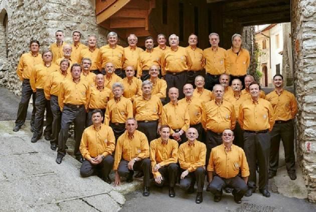 Pandino il Coro Alpino –Due Valli- di Alzano Lombardo  1 Settembre 2019 ore 20.45
