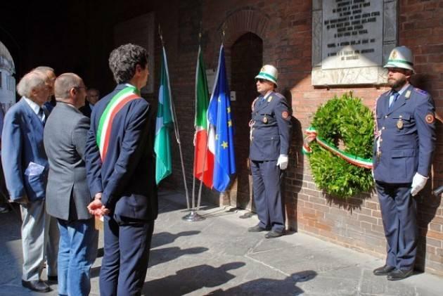 Cremona, commemorazione dell'8 settembre al Civico Cimitero e in Cortile Federico II