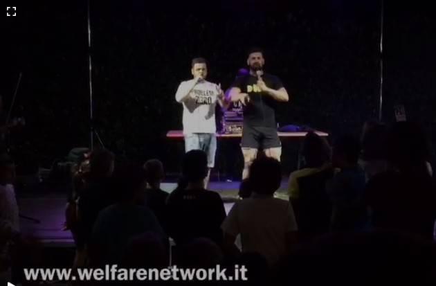 FestaUnità2019 Crema Una strana sera ad Ombrianello, Bosio VS Bonaldi (Video E.Mandelli)