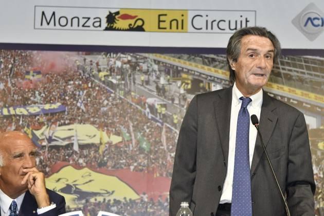LNews-GP MONZA, PRESIDENTE FONTANA: AUTODROMO E FORMULA 1 SONO E SARANNO SEMPRE NOSTRI PUNTI DI RIFERIMENTO