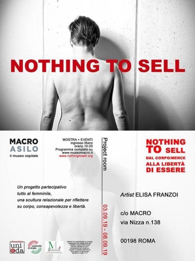 Roma 'Nothing to sell' al via la mostra fotografica contro la mercificazione del corpo delle donne | Christian Flammia