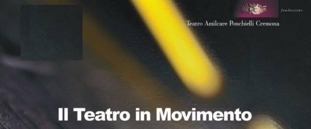 Cremona IL TEATRO Ponchielli  IN MOVIMENTO Stagione d'Opera 2019-20 Incontro del 20 settembre a  Quinzano