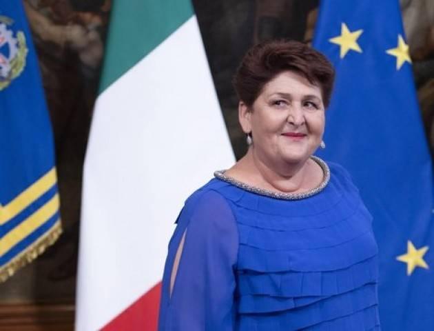 Il Personaggio #TeresaBellanova (Ministra Agricoltura Gov. Conte, PD)  di Vittore Soldo