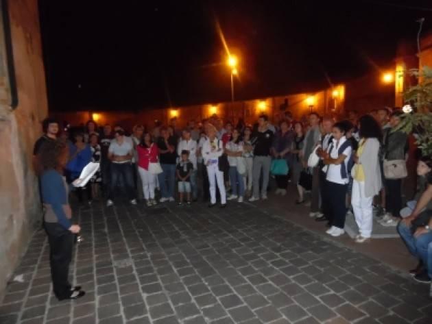 Pizzighettone Record di presenze per le visite guidate in notturna del Gruppo Volontari Mura, con un + 38% rispetto al 2018