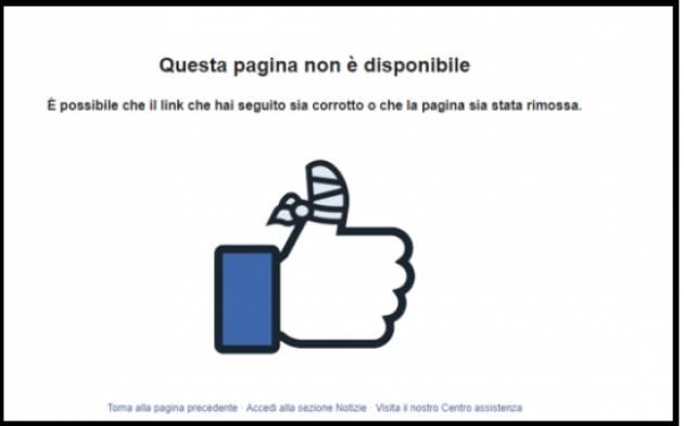 Da Rassegna Sindacale Internet Facebook cancella Casapound e Forza Nuova