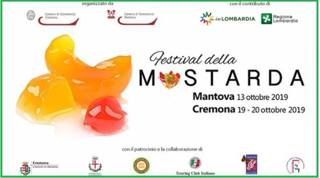 Anche nel 2019 torna il Festival della Mostarda a Mantova (13/10) e a Cremona (20/10)
