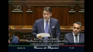 Il Governo Conte bis incassa la fiducia Luciano Pizzetti (Pd Cremona)  non partecipa al voto