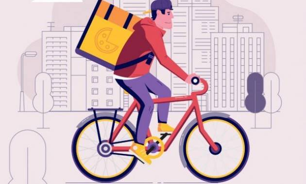 Gig economy Rider: Cgil Milano, stranieri che tirano avanti come possono