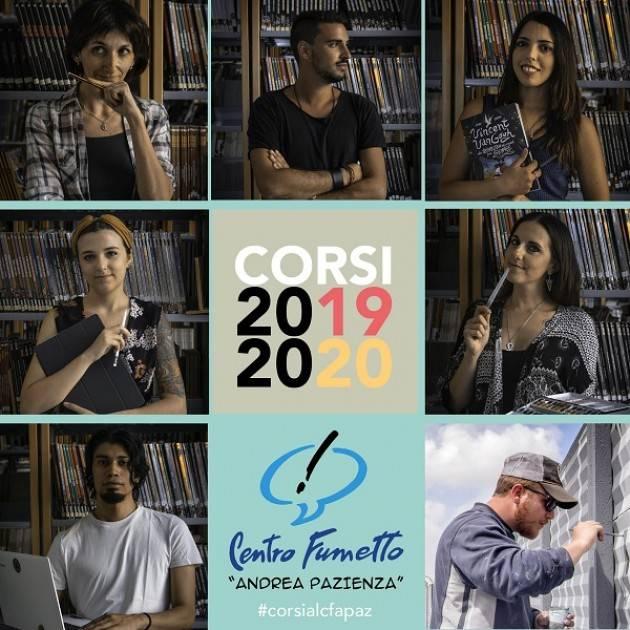 Cremona Con il Cfapaz  ECCO I CORSI DI FUMETTO, GRAFICA E STREET ART 2019-2020