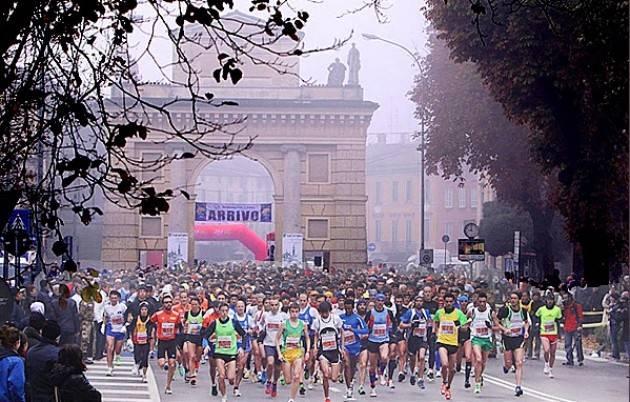 Crema La maratonina 2019  in un gioiello di città  13esima edizione il 10 novembre