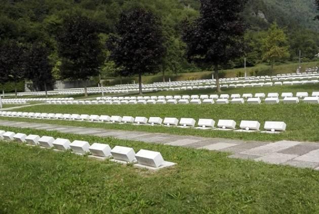 Visita al Cimitero monumentale delle vittime del Vajont.  La matassa di Massimo Negri – Casalmaggiore