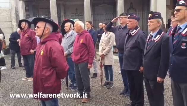 Crema I Bersaglieri celebrano l'8 settembre (Video di E.Mandelli)