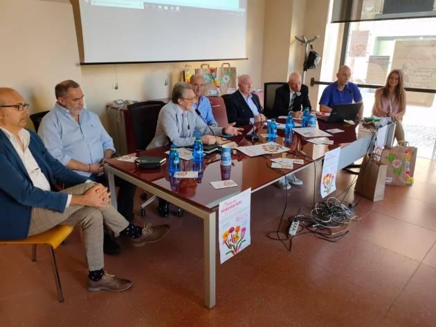La 28a edizione del 22 settembre 2019  della Festa del Volontariato di Cremona si presenta .(Video di G.C.Storti)