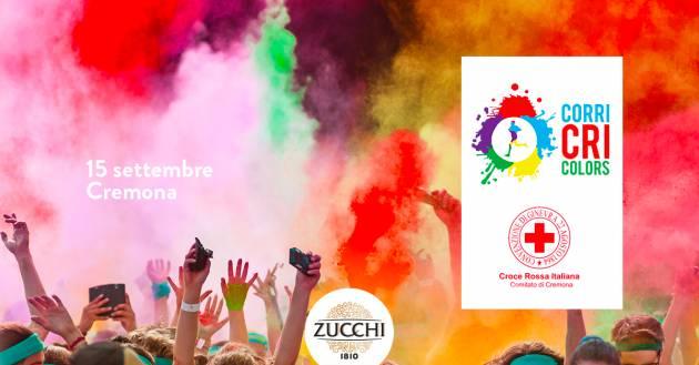 Cremona Oleificio Zucchi in pista per la solidarietà: domenica 15 Settembre al via la Corri CRI Colors