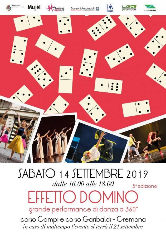 Cremona Sabato 14 settembre Effetto Domino in corso Campi e corso Garibaldi